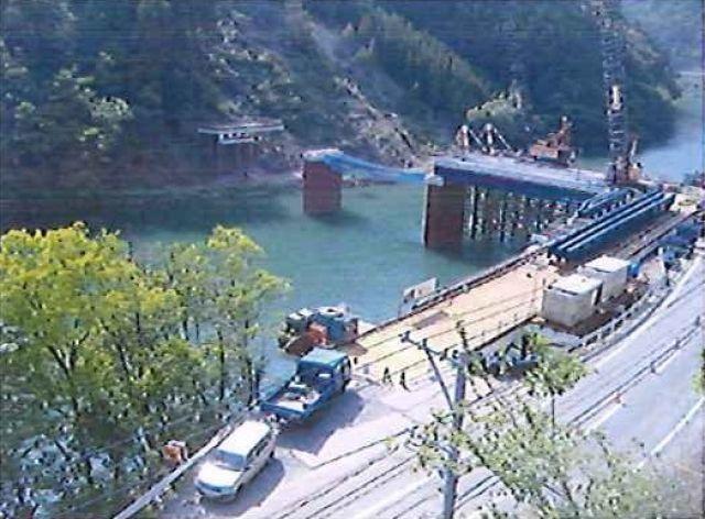 2009年5月 仮橋設置(PG橋)