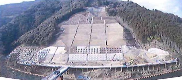 2011年1月 長繊維補強・アンカー施工