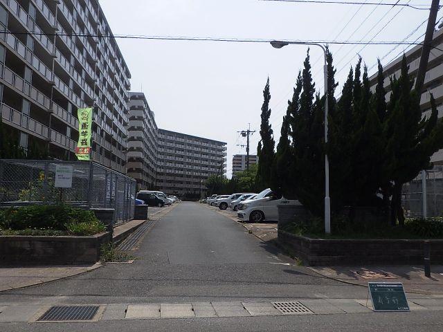 着手前1:平成30年度事業福岡県公営住宅板付団地駐車場整備工事(3工区)